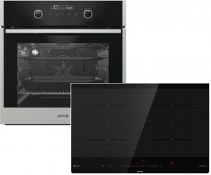 Gorenje Backofenset Black Pepper A1 best. aus:  BOP647A35XG + IS846BG